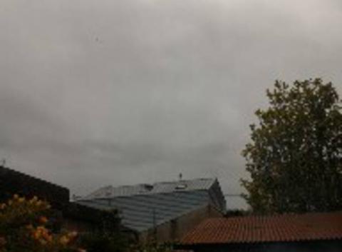 Photo nuageuse du jour