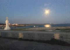 Ciel Martigues 13500 La lune se lève à Carro