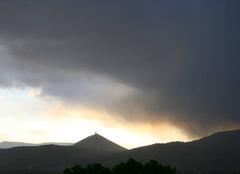 Pluie Baldenheim 67600 Alsace coup de vent sur le Haut Koenigsbourg