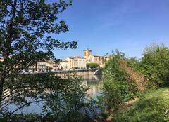 Ciel Bourg-de-Peage 26300 Au fil de l'eau,  ce matin