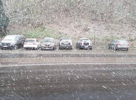 Neige dans les Vosges alsacienne!!