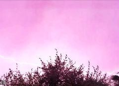 Ciel Villeneuve-Loubet 06270 Gros orage
