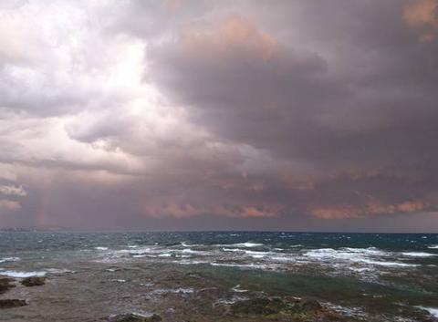 Entre nuages et mer