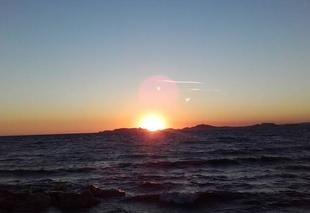 Ciel Marseille 13000 Coucher de soleil