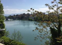 Ciel Romans-sur-Isere 26100 Quais d'Isère sous le soleil