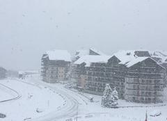 Neige Guillestre 05600 Il neige sur Risoul