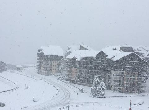 Il neige sur Risoul