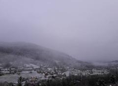 Ciel Rochesson 88120 Neige