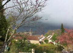 Orage Dampierre-en-Yvelines 78720 L'orage approche sur Dampierre