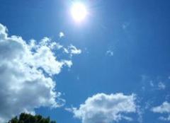 Ciel Ambes 33810 Grand soleil d'avril