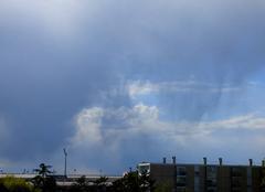 Ciel Niort 79000 Virga sous nuage