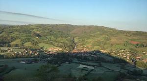 Froid Clairvaux-d'Aveyron 12330 Gelée ce matin sur le Vallon de Marcillac!