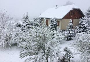 Neige Le Sappey 74350 Neige fin avril