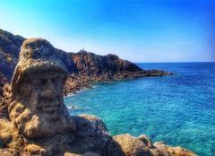 Mer Saint-Malo 35400 Les rochers sculptés