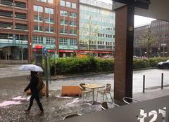 Pluie Hambourg Il pleut
