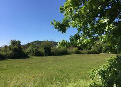 Ciel Mours-Saint-Eusebe 26540 Campagne  moursoise sous beau ciel bleu