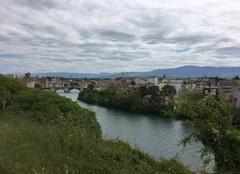 Nuages Romans-sur-Isere 26100 Panoramique de l'Isère