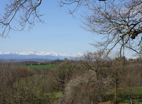Mont Valier au printemps