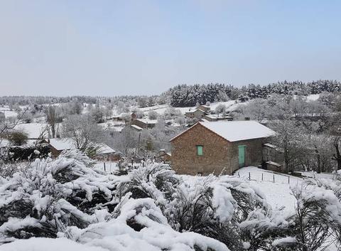 La neige du premier Mai 2017