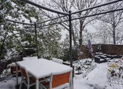 Neige Sainte-Foy-Tarentaise 73640 Neige le 1er mai