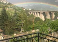 Ciel Aguessac 12520 Viaduc d'Aguessac