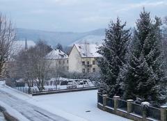 Neige Trier Il a neigé cette nuit !!!