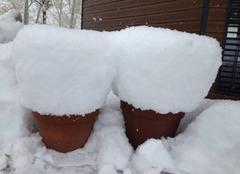 Neige Onnion 74490 Chutes de neige 30cms