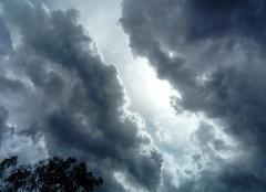 Ciel La Motte 83920 Belle arrivée nuageuse