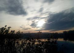 Nuages Joue-les-Tours 37300 Coucher de soleil