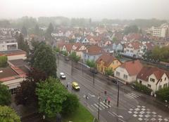 Pluie Ostwald 67540 Ostwald sous la pluie