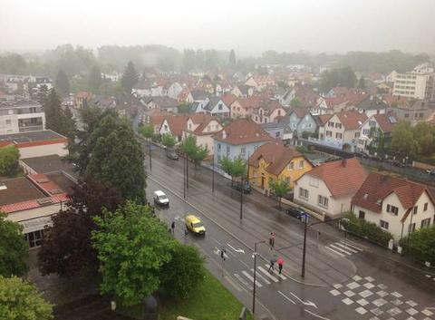 Ostwald sous la pluie