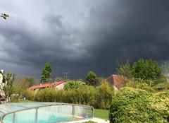 Ciel Saint-Parres-aux-Tertres 10410 Ciel menaçant