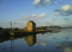 Insolite Saint-Suliac 35430 Le moulin à marée du Bauchet