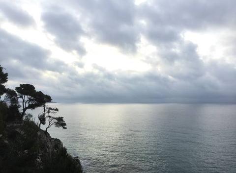Lever du jour sur la mer