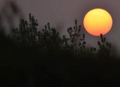 Ciel Saint-Leger-les-Domart 80780 Couché de soleil