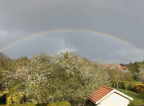 Entre soleil et pluie être là au bon moment