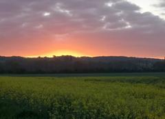Ciel Jouy-sur-Eure 27120 Soleil levant