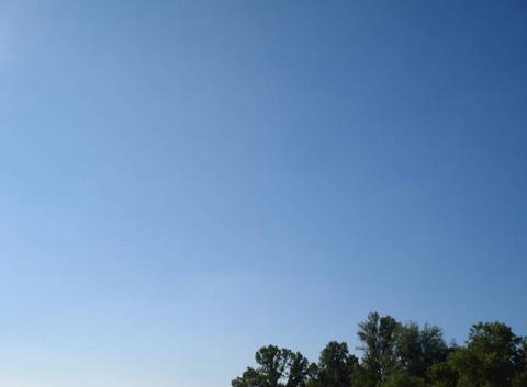 Ciel bleu 9h17