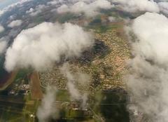 Nuages Corbas 69960 Corbas sous les cumulus