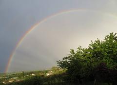 Ciel Saint-Alban-de-Roche 38080 Arc en ciel