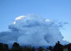 Ciel Cadarcet 09240 Masse nuageuse