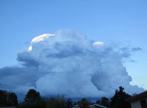 Masse nuageuse