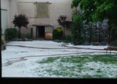Grêle Grezieux-le-Fromental 42600 Orage de la loire