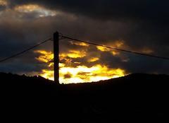 Ciel Gras 07700 Coucher de soleil du 11/05