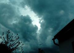 Orage Hondainville 60250 Ciel orageux