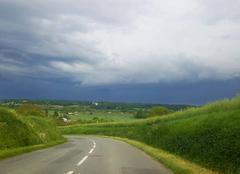 Ciel Vouneuil-sur-Vienne 86210 Orage 12 mai 2017