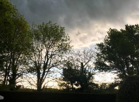 Orage à l'horizon