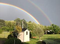 Ciel Cande-sur-Beuvron 41120 Double arc en ciel