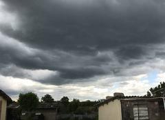 Ciel Montauban 82000 Nuage noir 17h 15