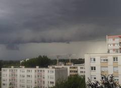 Orage Strasbourg 67000 L 'orage arrive ...